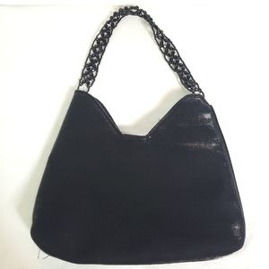 Shimmering Fabric Evening Bag
